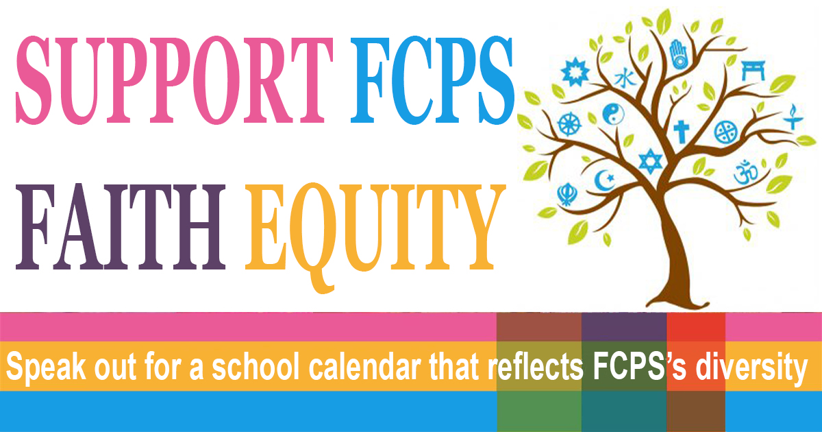 Fcps 2022 Calendar.Support Fcps Faith Equity Jewish Community Relations Council Of Greater Washington